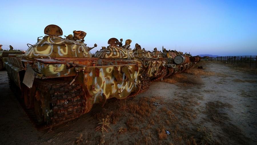 Как умирают танки