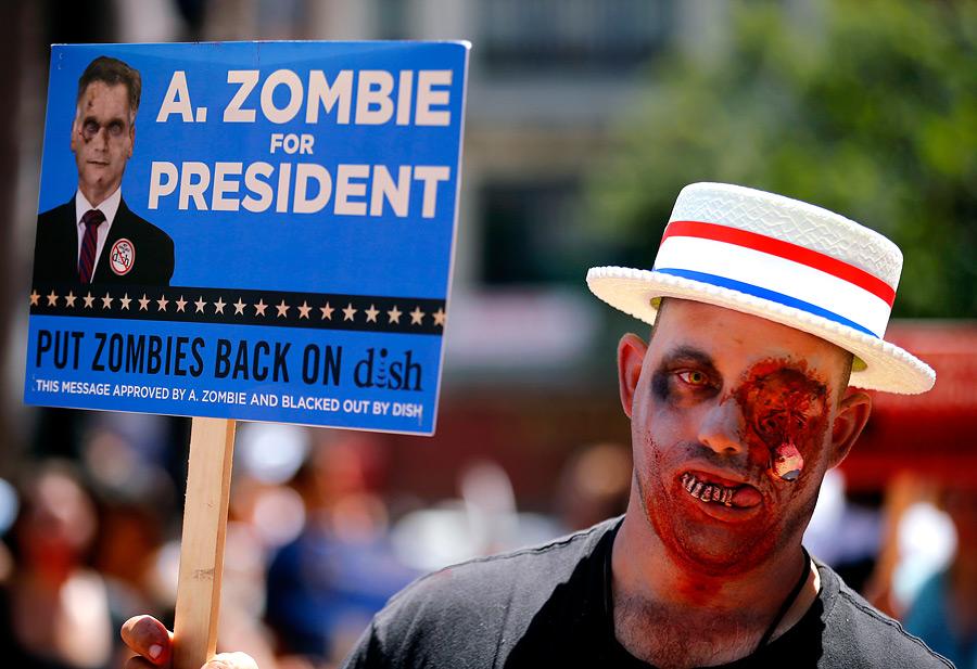 Зомби в президенты!