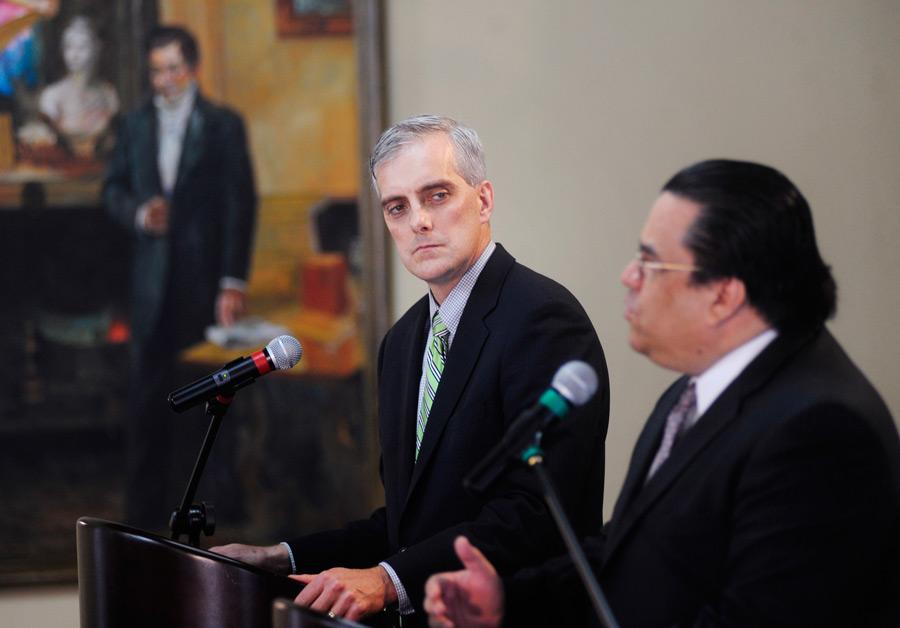 Дэнис Макдоноу, руководитель аппарата сотрудников Белого дома. © Jorge Cabrera/Reuters