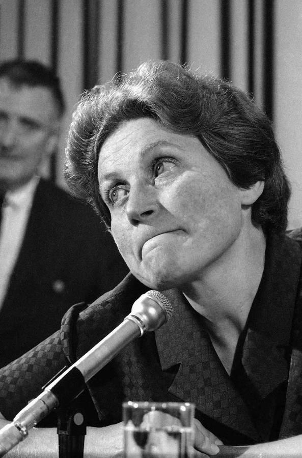 Светлана Аллилуева. 26апреля 1967 года. © APPhoto