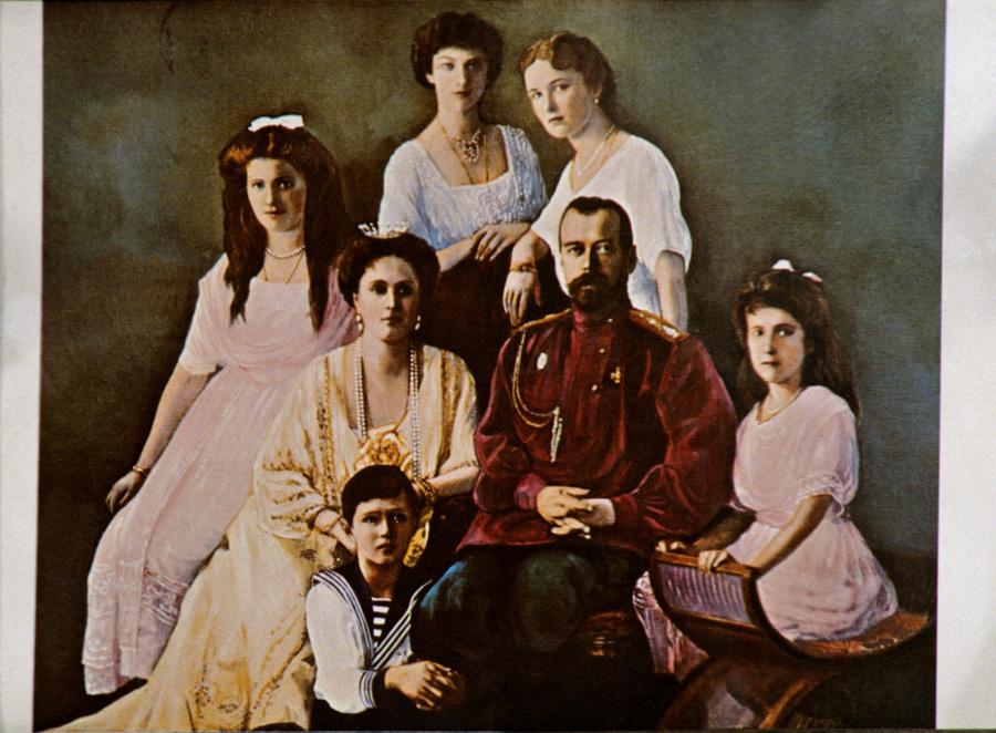 Соколов Убийство царской семьи