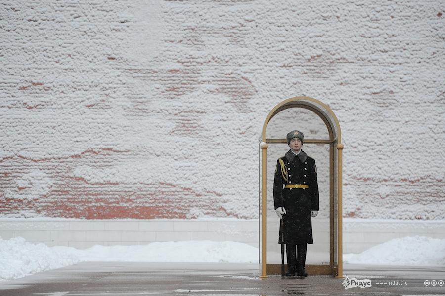 Центр Москвы утром 1января. © Антон Белицкий/Ridus.ru