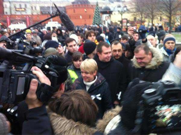 Чирикова наплощади Революции. Фото Ильи Варламова