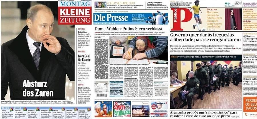 Зарубежная пресса и новости