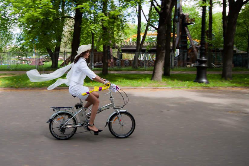 Веловояж в честь 310-летия Санкт-Петербурга. Фото: Павел Семёнов