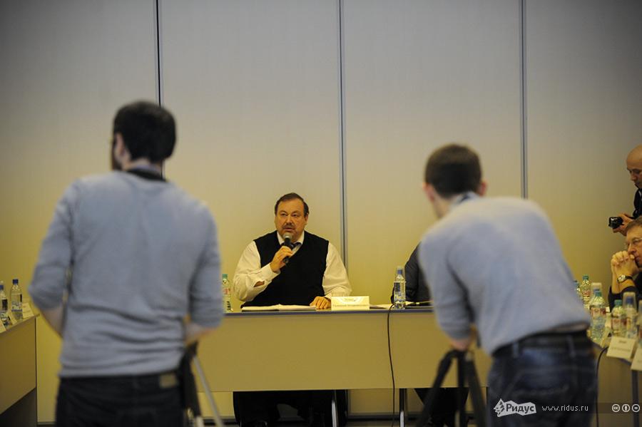 Геннадий Гудков назаседани Координационного совета оппозиции. © Антон Белицкий/Ridus.ru