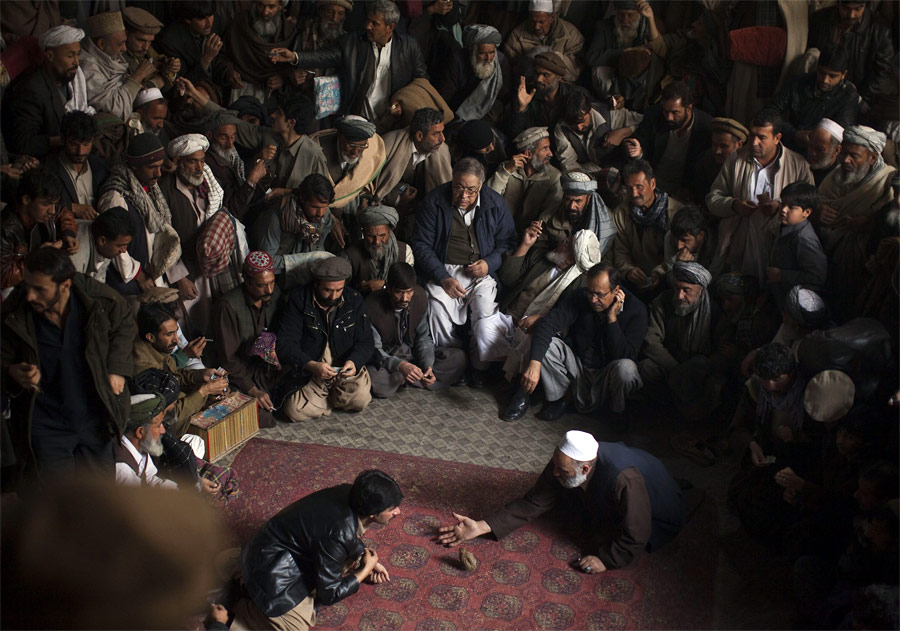 Перепелиные бои вАфганистане — популярное хобби испособ заработка наставках. © Ahmad Masood/Reuters