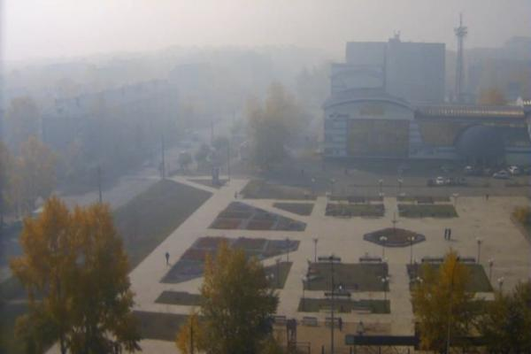 Утро 23 сентября. Фото http://bratsk.teleos.ru/cameras/item/2