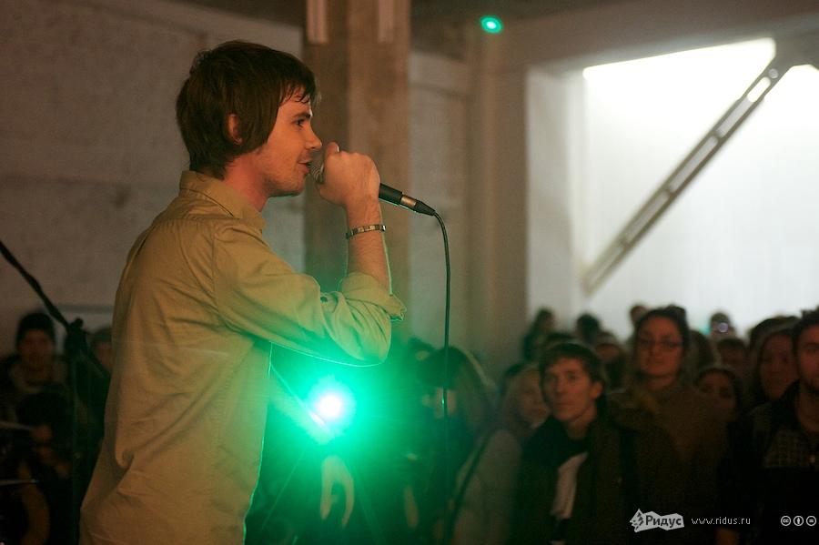 Выступление Васи Обломова. © Антон Белицкий/Ridus.ru