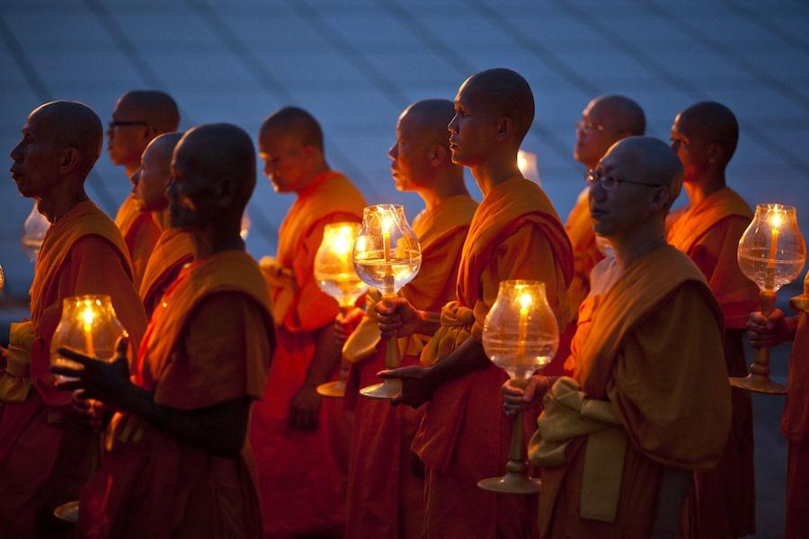 Буддисты вТаиланде. Фото Associated Press