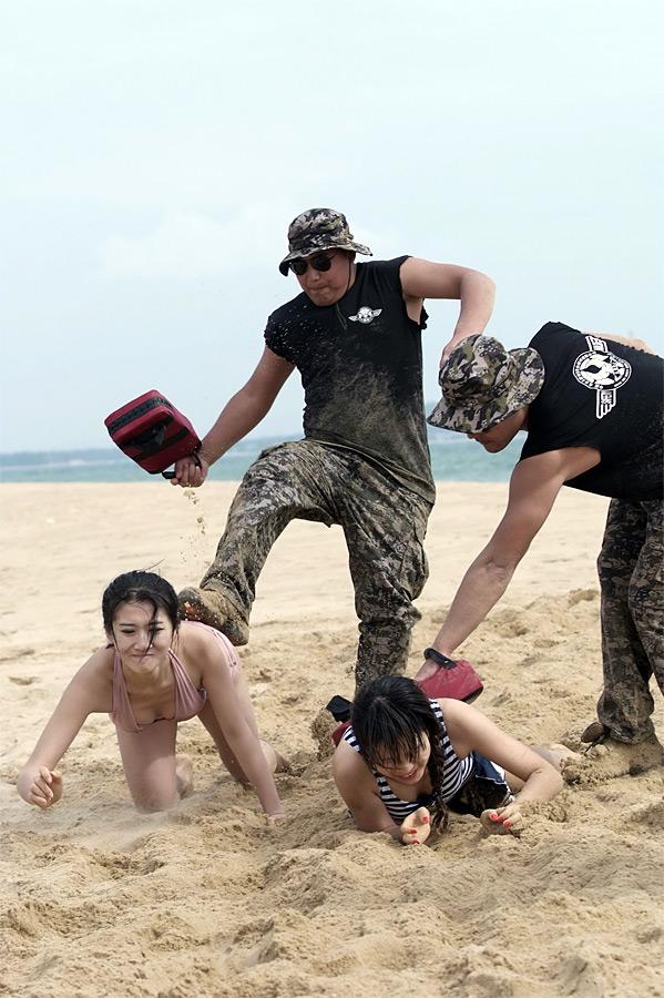 Тренировка женщин-телохранительниц вКитае. © China Daily/Reuters