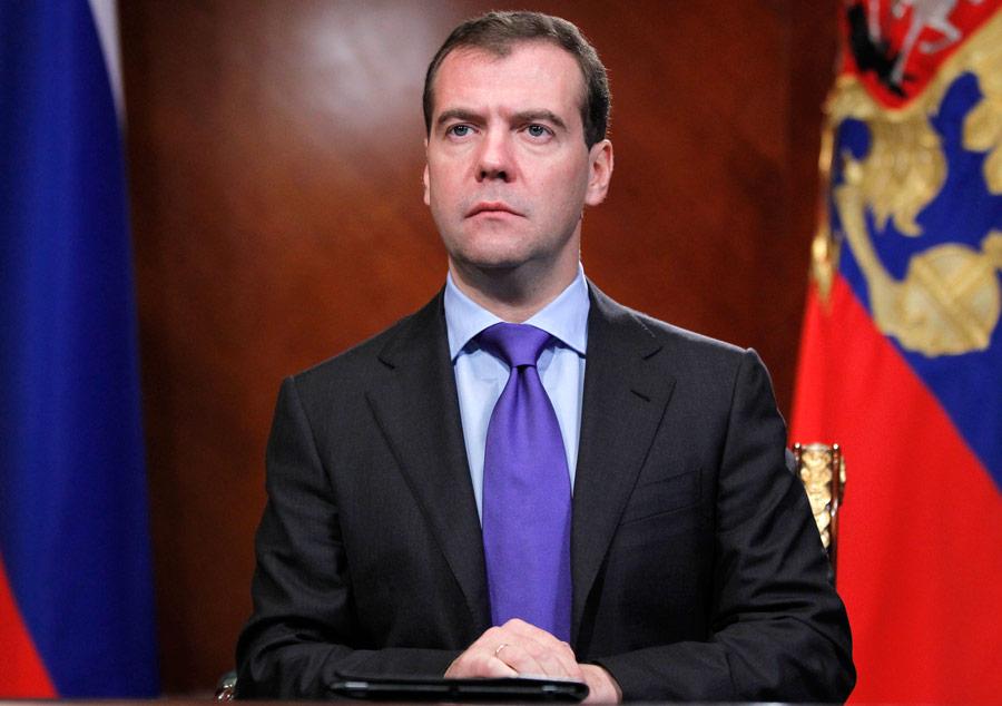 Президент России Дмитрий Медведев. © Дмитрий Астахов/ИТАР-ТАСС