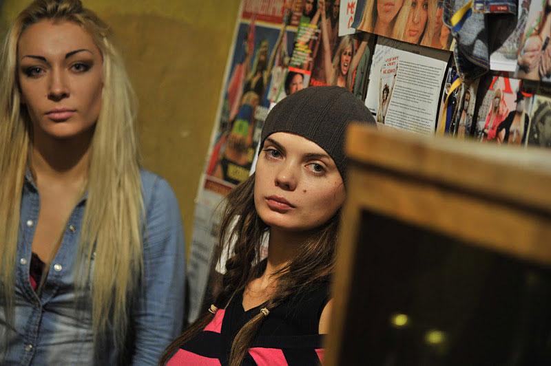 Инна Шевченко иОксана Шачко. © FEMEN