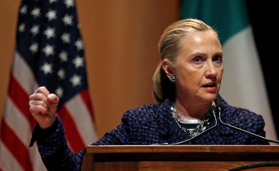 «500 спартанцев» Хиллари Клинтон: театральное представление в Мосуле
