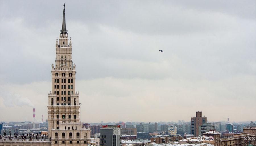 Видсверху напроспект Сахарова вовремя митинга «Зачестные выборы». © Виталий Раскалов/Ridus.ru