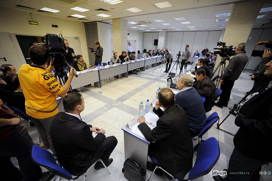 Евгения Чирикова назаседании Координационного совета оппозиции. © Антон Белицкий/Ridus.ru