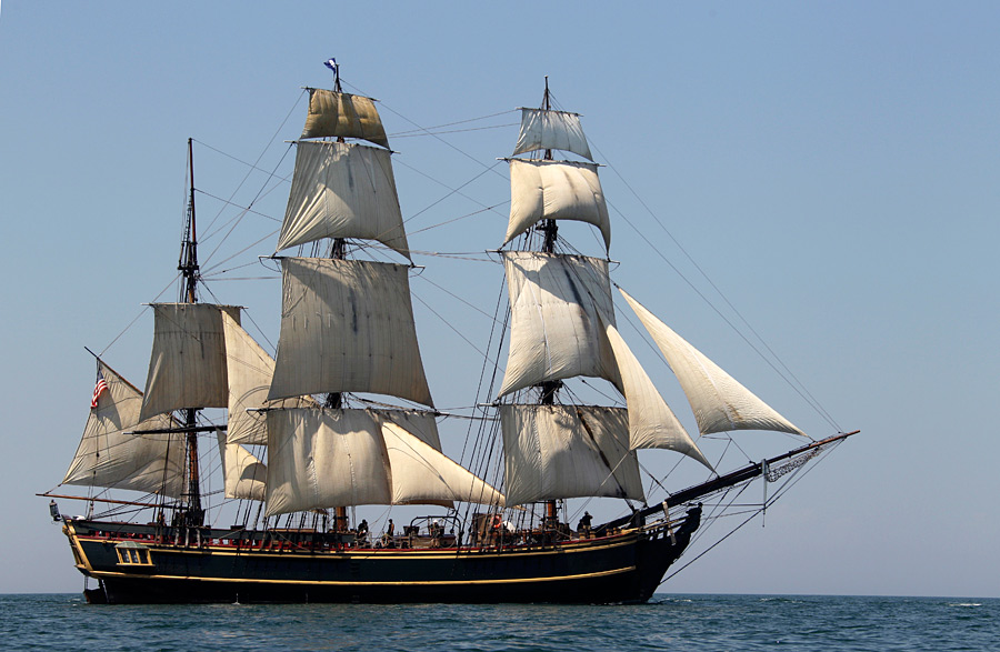 Копия исторического судна баунти