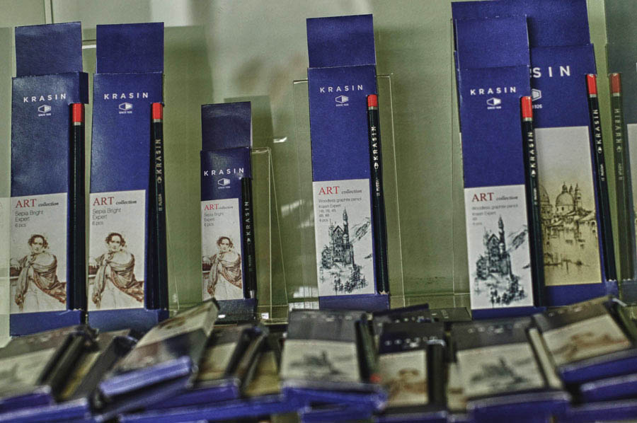 Репортаж с Фабрики Красина.
