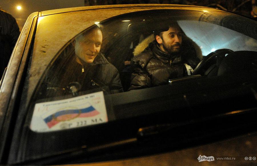 Сергей Удальцов впервые замесяц отправляется домой. © Антон Тушин/Ридус