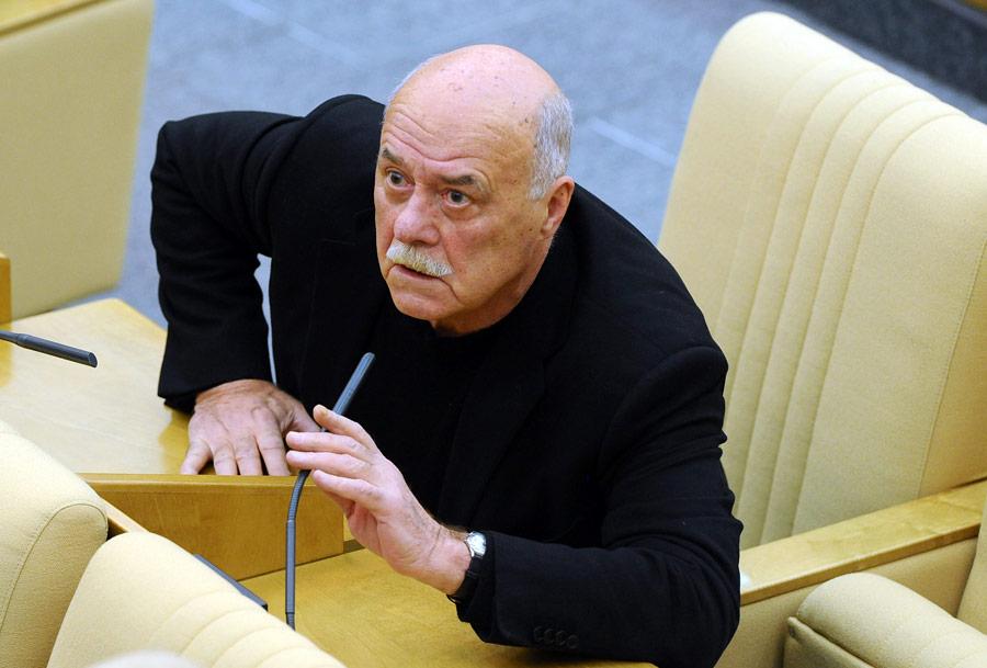 Станислав Говорухин вовремя пленарного заседания Госдумы. © Валерий Шарифулин/ИТАР-ТАСС