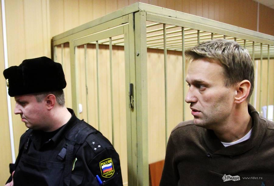 Алексей Навальный взале Тверского суда 7декабря 2011 года. © Антон Тушин/Ridus.ru