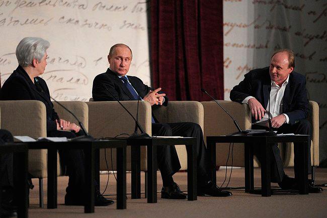 Владимир Путин обогатил литературу предложениями