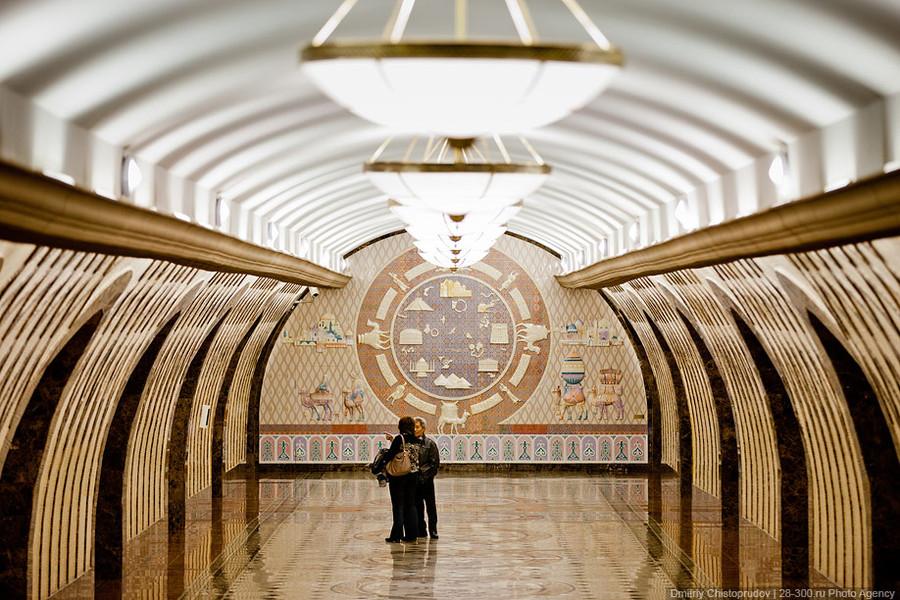 Фотографии около метро румянцево