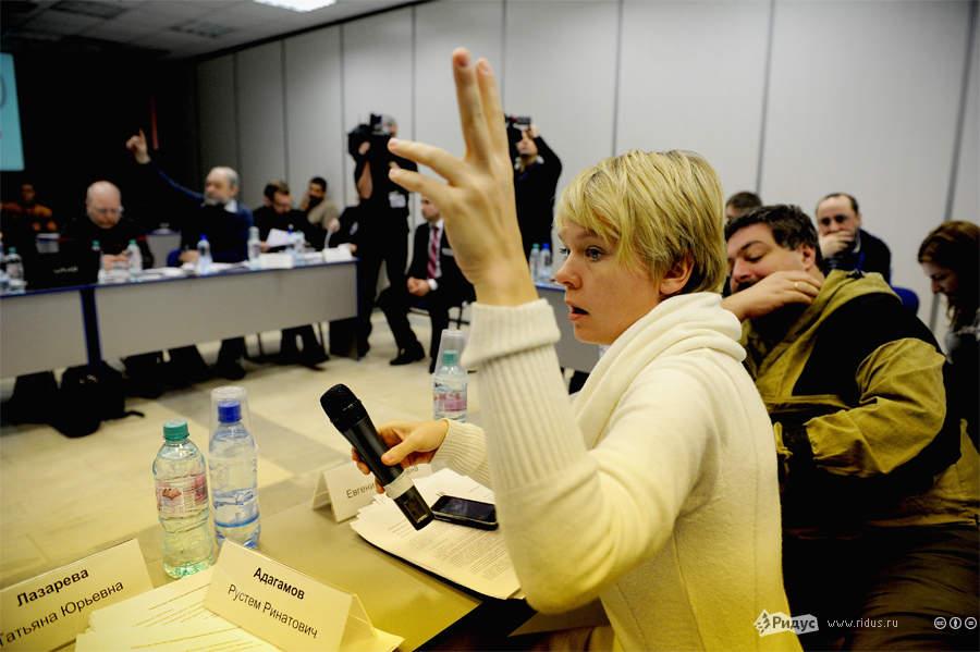 Заседание Координационного совета оппозиции. © Антон Белицкий/Ridus.ru