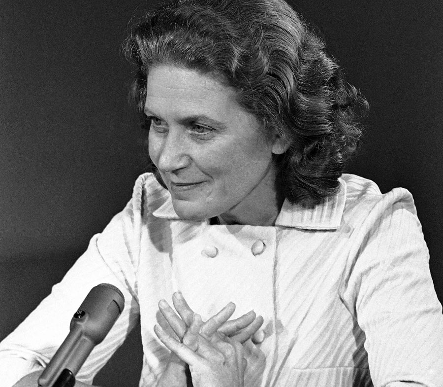 Светлана Аллилуева. 21сентября 1969 года. Архивное фото © APPhoto