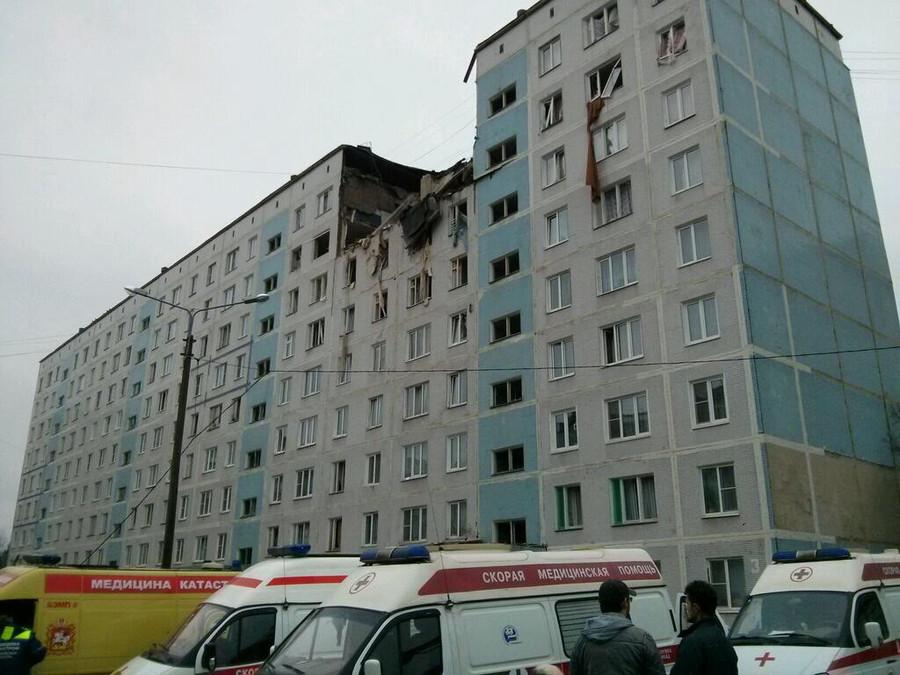 взрыв газа в панельном доме фото