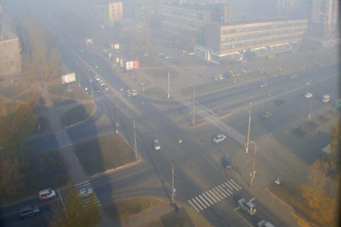 Утро 28 сентября, улицы города. Фото http://bratsk.teleos.ru/cameras