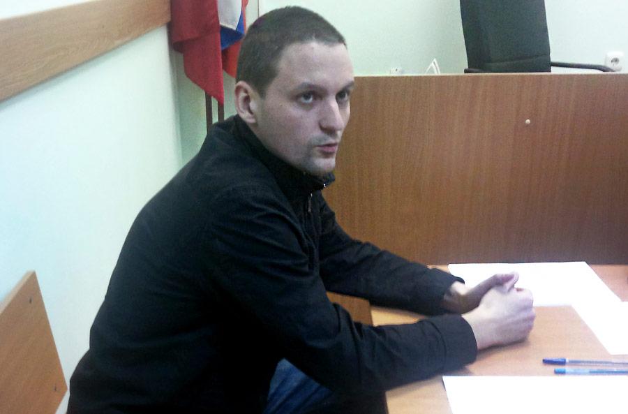 Сергей Удальцов взале мирового участка Тверского суда. © Митя Алешковский/ИТАР-ТАСС