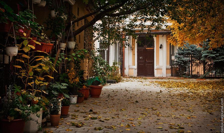 Одесские дворы в фотографиях