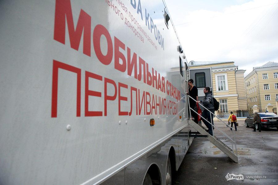Сдача крови вМГМУ им. Сеченова. © Антон Белицкий/Ridus.ru