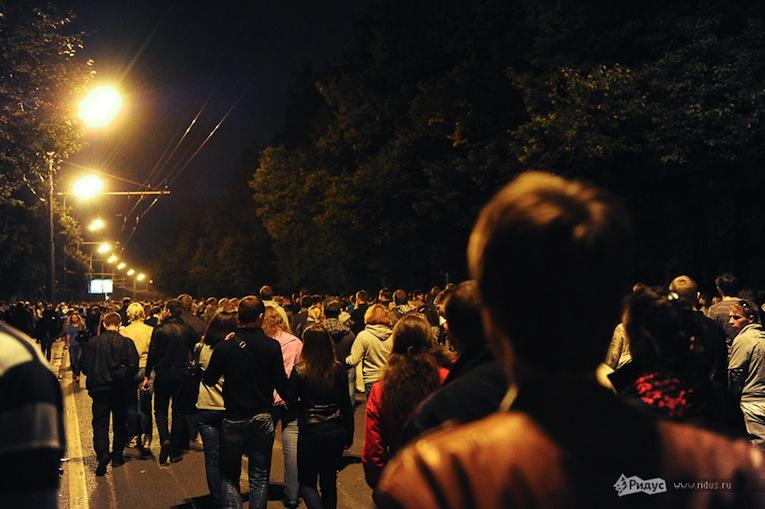 День города вМоскве наВоробьевых горах. © Ridus.ru/ Антон Белицкий