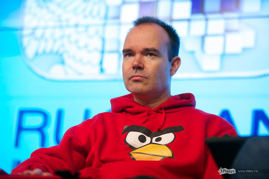 Автор игры Angry Birds Петер Вестербака наВсероссийском молодежном инновационном конвенте. © Антон Белицкий/Ridus.ru