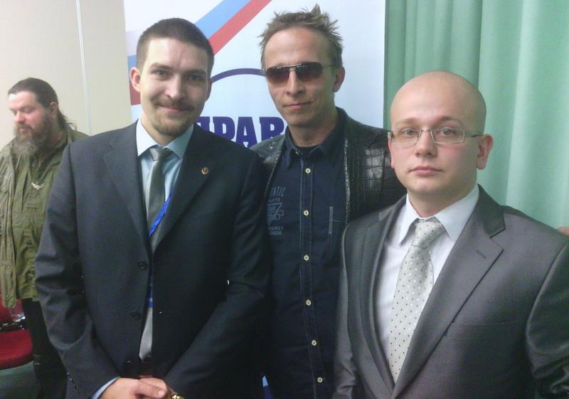 """Организатор """"Битвы за Донбасс"""" Алексей Живов (слева)"""
