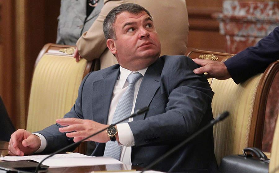 Сердюков исчерпал лимит на ошибки