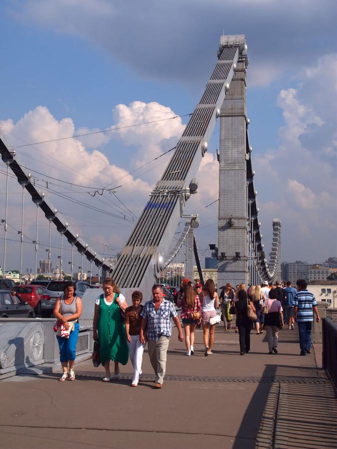 Крымский мост. Москва. © Vadim Preslitsky