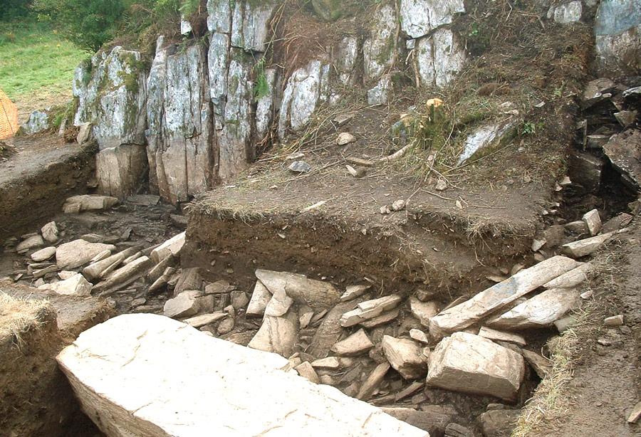 Место Крейг Рос-и-Фелин вграфстве Пембрукшир наюго-западе Уэльса, откуда происходят камни, ставшие основой дляСтоунхенджа. © brian-mountainman.blogspot.com