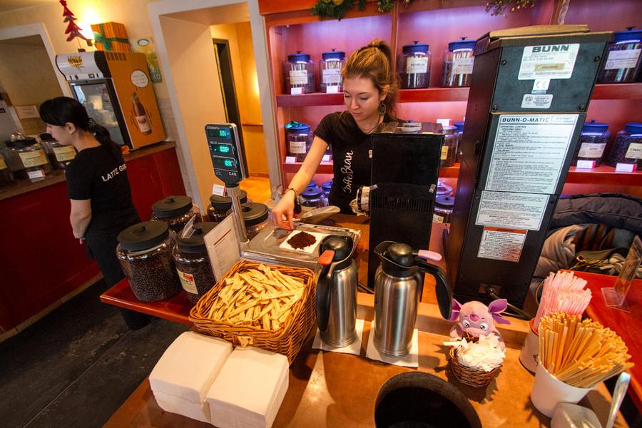 тотсамый магазин кофе