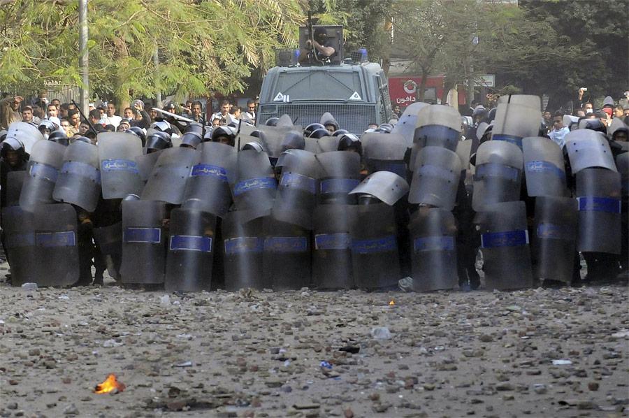 Египетская полиция наплощади Тахрир вКаире. © Mohamed Abd El-Ghany