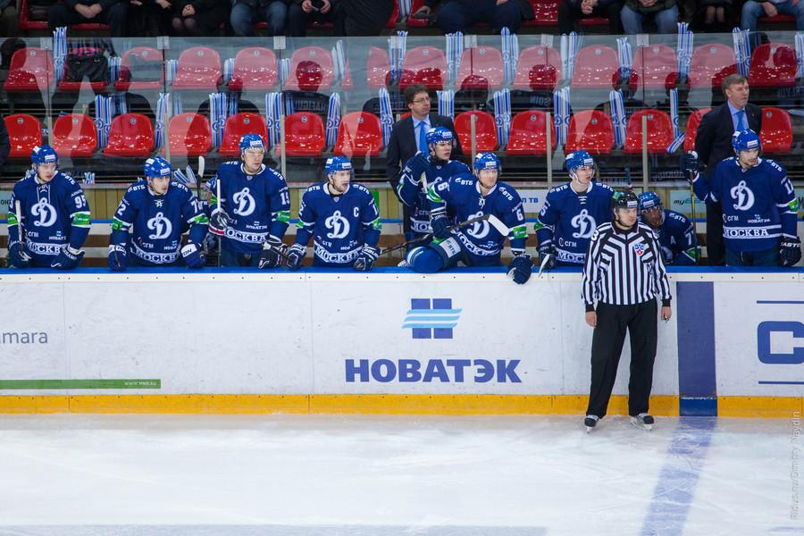 Динамо Мск  СКА счет статистика и результат матча 14