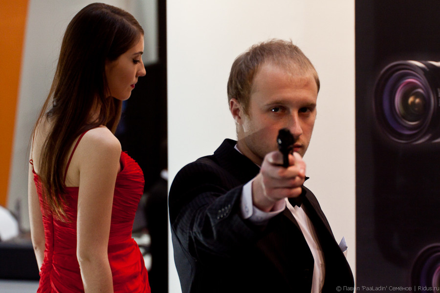 Агент 007. Фото: © Павел «PaaLadin» Семёнов |Ridus.ru