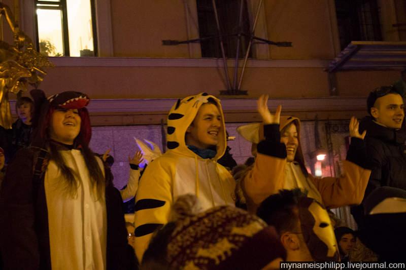 04.Различных костюмов имасок было довольно много, атмосферу ребятам создать удалось.