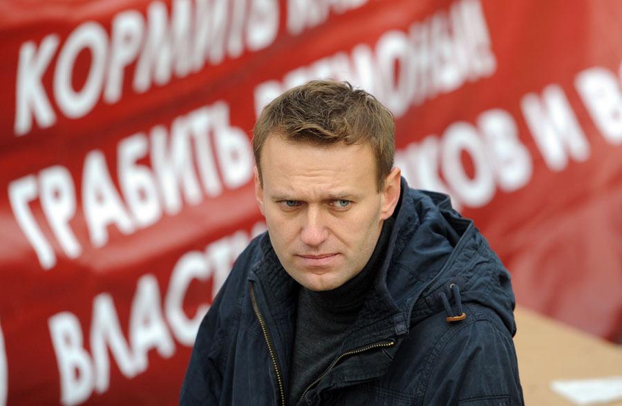 Блогер Алексей Навальный. © Максим Новиков/ИТАР-ТАСС