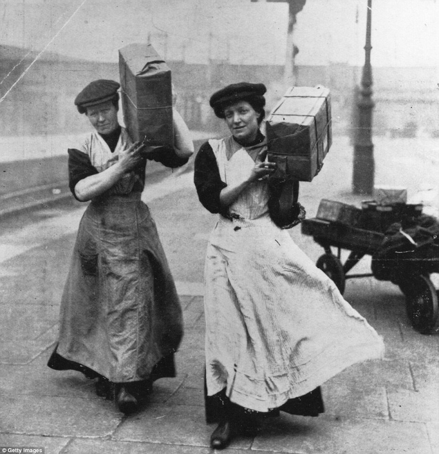 the plight of women in the workplace after the first world war Nine women reveal the dangers of working in a one of these was an appeal to women to register for war service work at the start of the first world war.