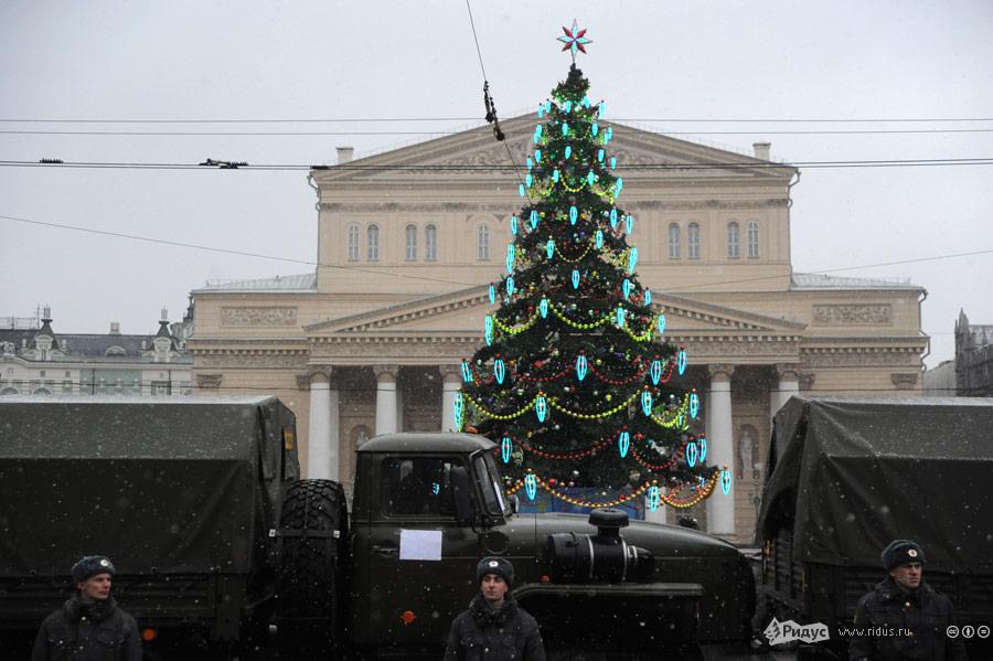 Усиление безопасности наПлощади Революции. © Василий Максимов/Ridus.ru