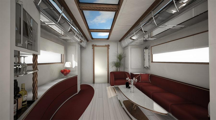 Автодом «eleMMent palazzo». © marchi-mobile.com