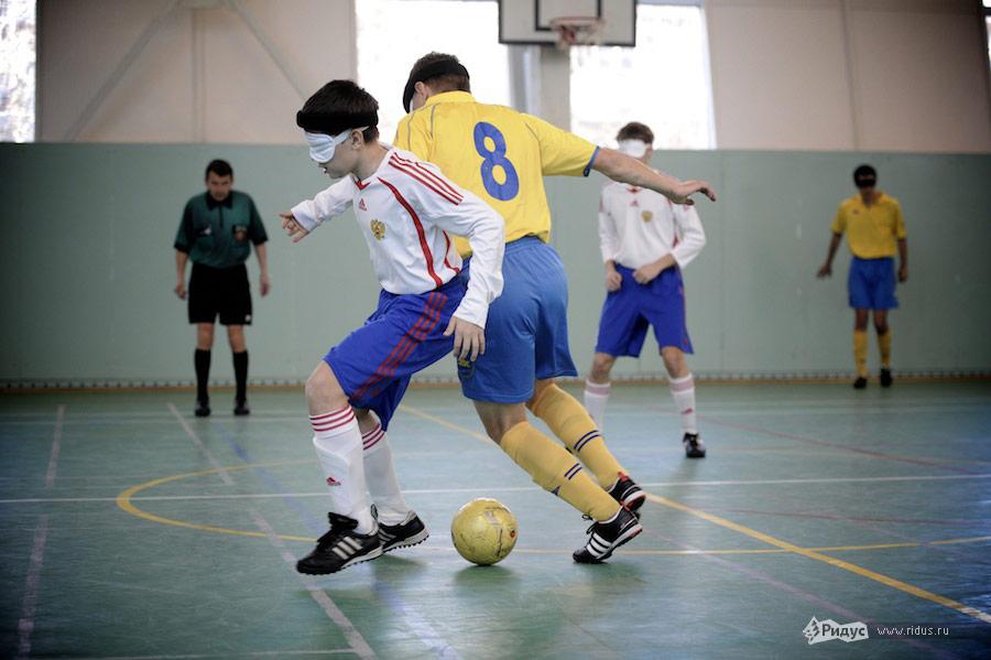 турнир по футболу слепых